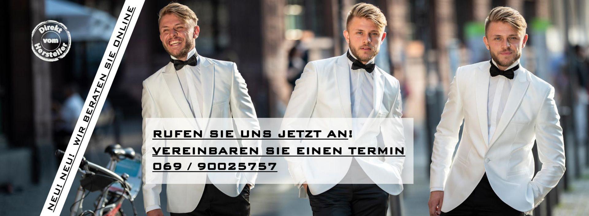 Saray Bräutigam, Hochzeitsanzüge nach Maß - Frankfurt, Köln, Stuttgart