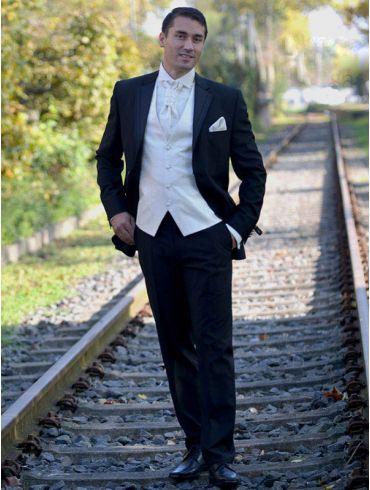 Hochzeitsanzug Schwarz Modell New York