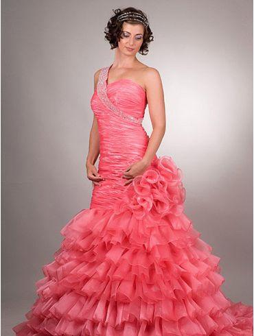 Rotes Brautkleid Modell Diva