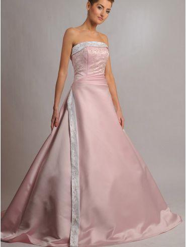 Farbiges Brautkleid Modell Fabienne