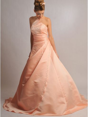 Farbiges Brautkleid Modell Lenisa
