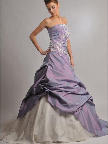Farbiges Brautkleid Modell Samanta