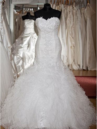 Brautkleider Meerjungfrauen-Stil Modell Carina
