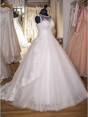 Brautkleider A-Linie Elfenbein Carmen-Ana-Maria
