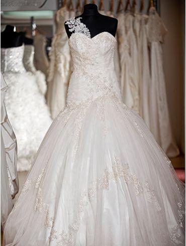Brautkleider Meerjungfrauen-Stil Spitze Modell Floria