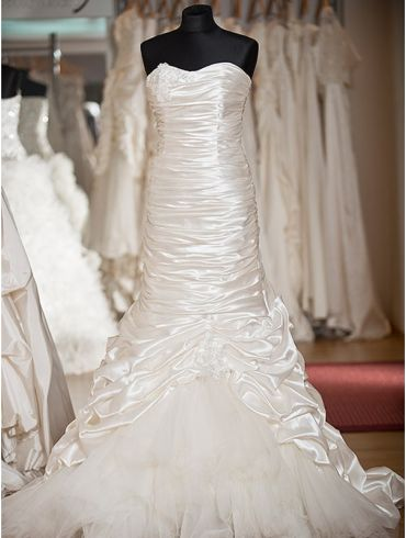 Brautkleider Meerjungfrau-Stil Organza  Modell Mariel