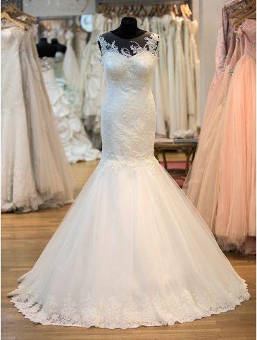 Brautkleider Godet-Form Modell Belle
