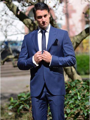 Hochzeitsanzug Blau Modell Brasil