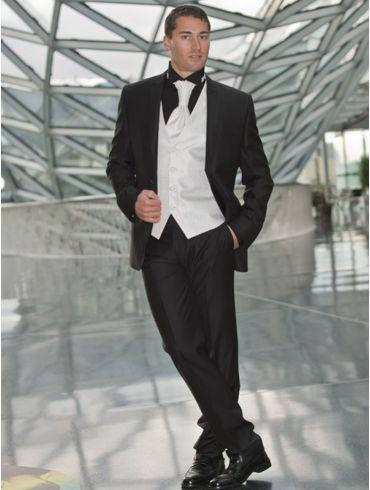 Hochzeitsanzug Schwarz Modell Melbourne