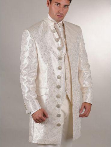 Hochzeitsanzug Gehrock Brokat Modell Geneva
