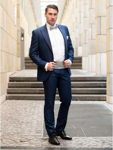 Hochzeitsanzug Bräutigam Königsblau Modell Barcelona