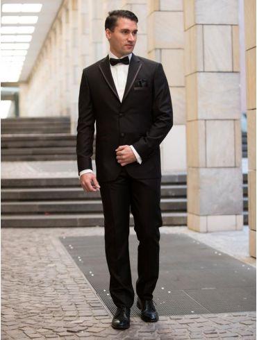 Hochzeitsanzug Bräutigam Anzug schwarz Modell Venedig