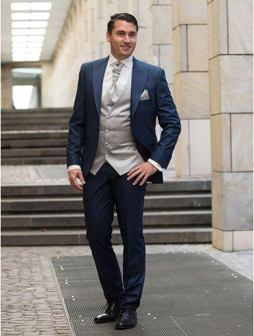 Hochzeitsanzug Blau Modell Zürich