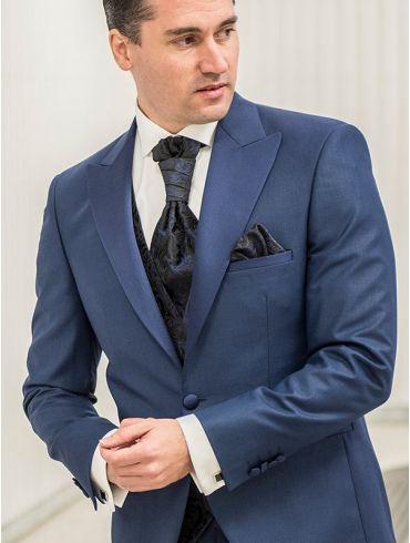 Hochzeitsanzug Königsblau Modell Seattle