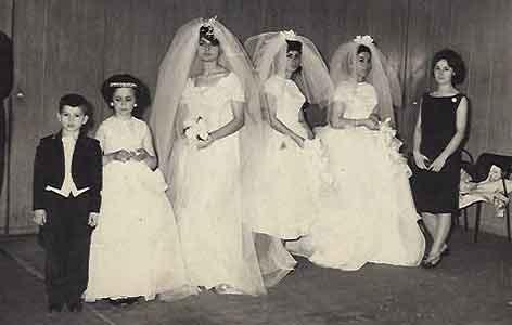 Modenschau aud dem Jahr 1963 in Hotel Hilton Istanbul