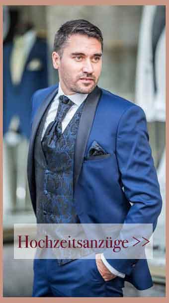 Saray Hochzeitsanzüge Blau Smoking