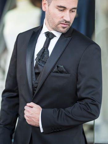 Saray Bräutigam - schwarze hochzeitsanzug