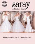Saray Brautmoden, Brautkleider nach Maß Frankfurt, Köln, Stuttgart